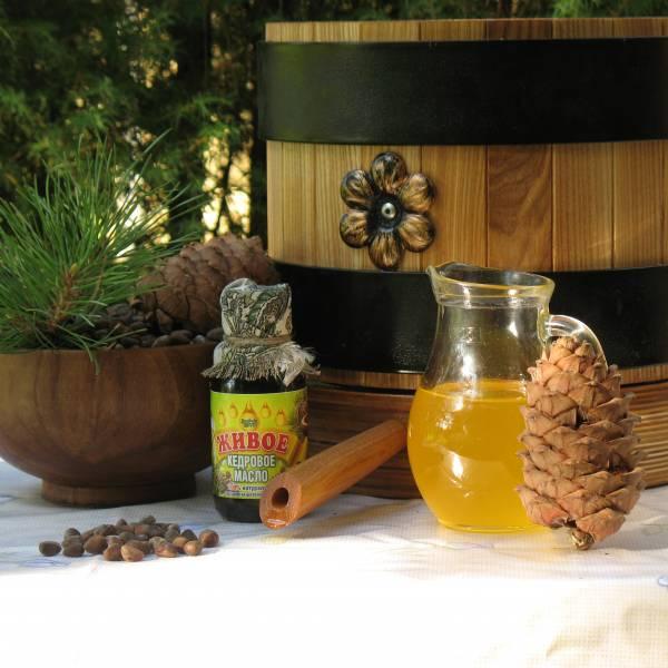 Живое кедровое масло для здоровья