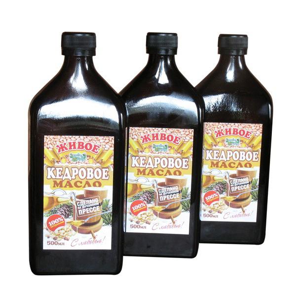 Кедровое масло купить
